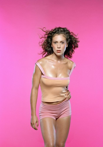 アリッサ・ミラノ 壁紙 probably with skin entitled Alyssa Milano