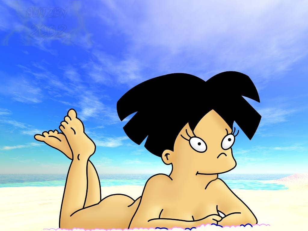 leah off of futurama nude