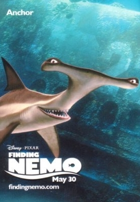 Finding Nemo wallpaper called Anchor Finding Nemo Poster