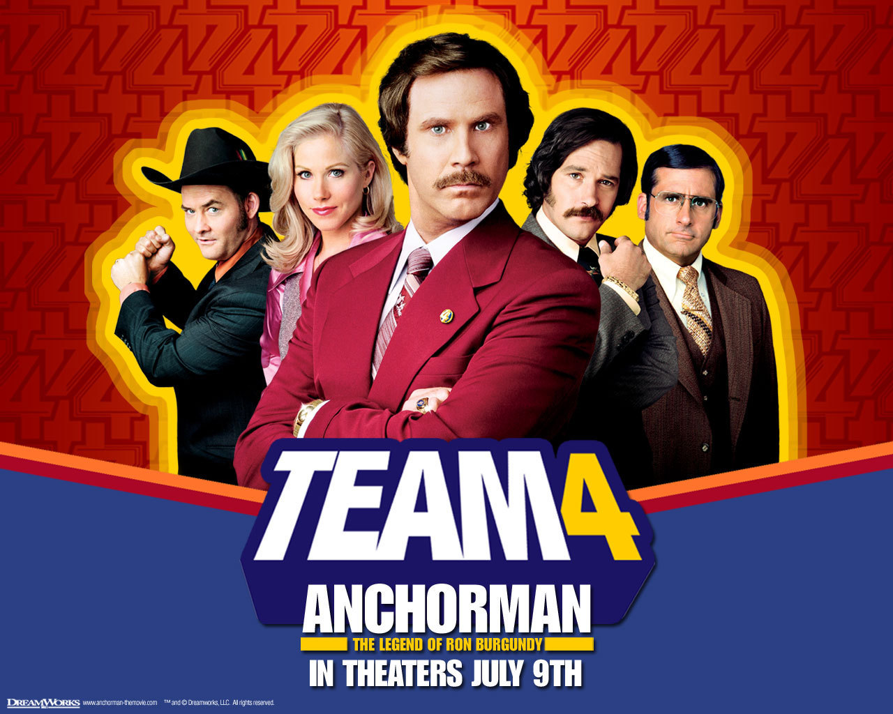 Download Anchorman 2 Ron Burgundy Wallpaper For iPhone 4