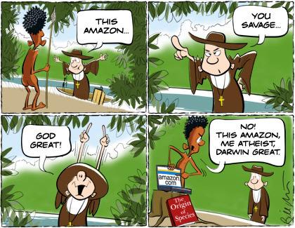 Atheism karatasi la kupamba ukuta with anime titled Atheist Jokes