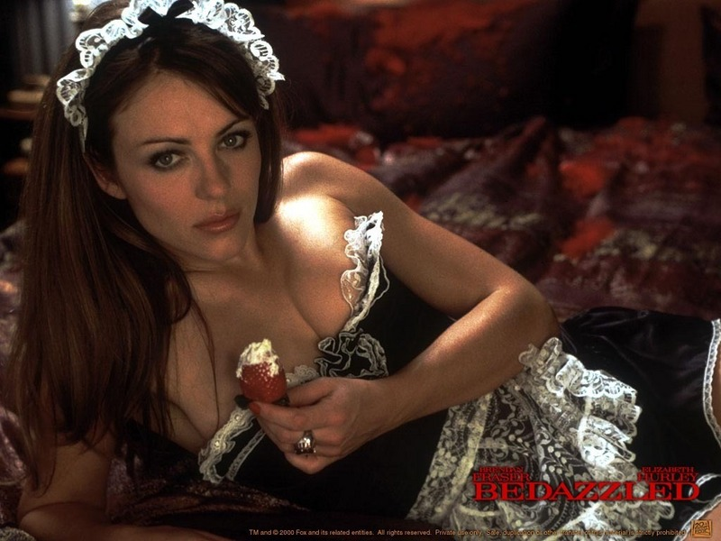 elizabeth hurley bedazzled photo