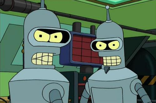 """Bender and """"Evil"""" Bender"""