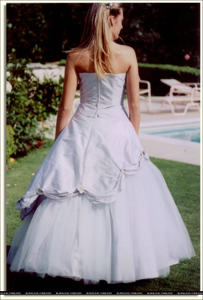 Blake Lively Wedding Dress Blake modeling wedding...