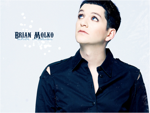 Brian Molko wallpaper probably with an overgarment and an outerwear entitled Brian