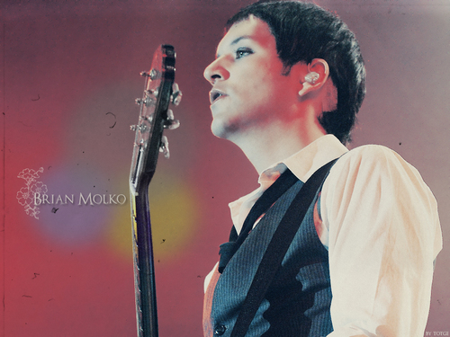 Brian Molko wallpaper containing a konser and a guitarist called Brian