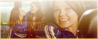 Brooke and Haley wallpaper probably with a sign titled Brooke and Haley Moments