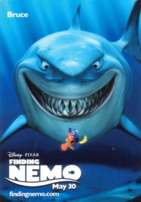Finding Nemo wallpaper entitled Bruce Finding Nemo Poster