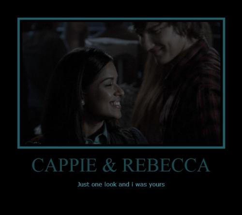 Cappie & Rebecca<33
