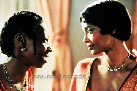Celie Johnson and Shug Avery