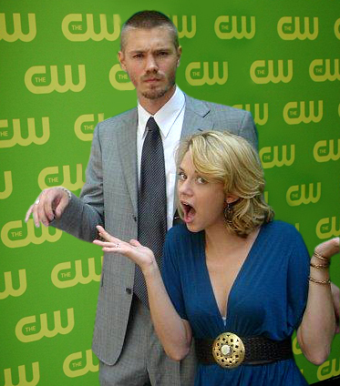 Chad and Hilarie wallpaper with a business suit called Chil