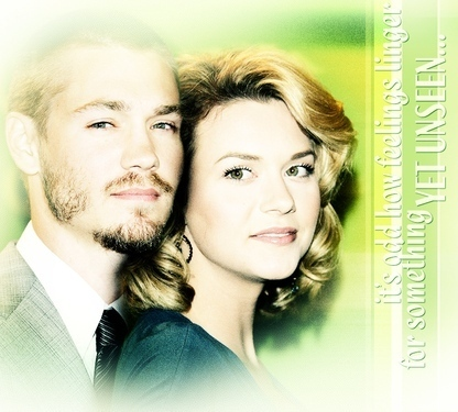 Chad and Hilarie wallpaper with a portrait titled Chil