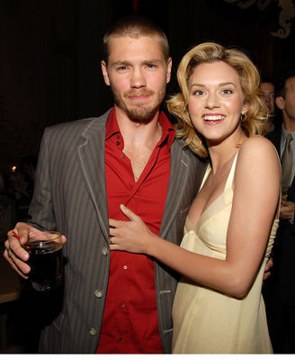 Chad and Hilarie wallpaper probably with a business suit and a dress suit titled Chil