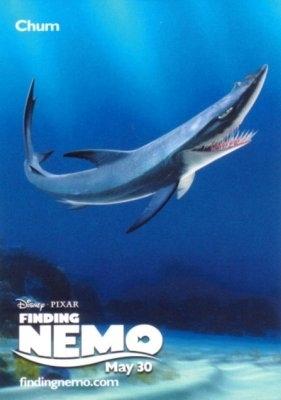 procurando nemo wallpaper entitled Chum Finding Nemo Poster