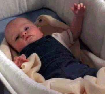 앤젤 바탕화면 containing a bassinet, a bassinet, and a 요람, 크래들 entitled Connor