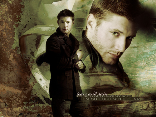 Dean Winchester kertas dinding possibly containing a sign entitled Dean