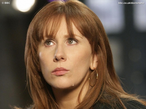 Donna Noble 바탕화면 containing a portrait called Donna Noble 바탕화면