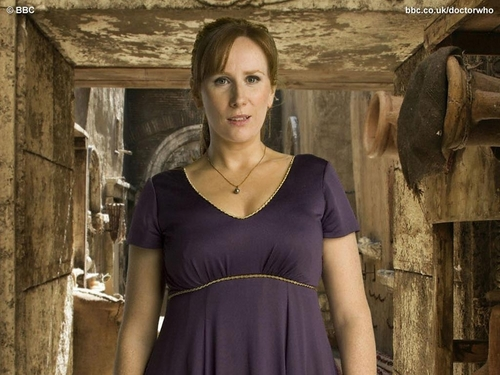 Donna Noble 바탕화면 possibly with a 칵테일 dress called Donna Noble 바탕화면