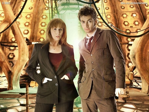 Donna Noble kertas dinding with a business suit and a well dressed person titled Donna Noble kertas-kertas dinding