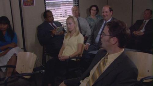 Dwangela watching Michael's Diwali Presentation in Diwali