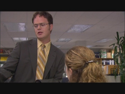 Dwight tells Pam that he is single in Diwali Deleted Scenes