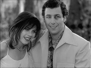 Fairuza Balk and Adam Sandler