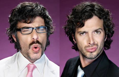Flight of the Conchords wallpaper with a business suit titled Flight of the Conchords