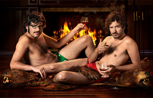 Flight of the Conchords wallpaper containing a hot tub called Flight of the Conchords