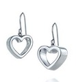 Geometric heart earrings - tiffany-and-co photo