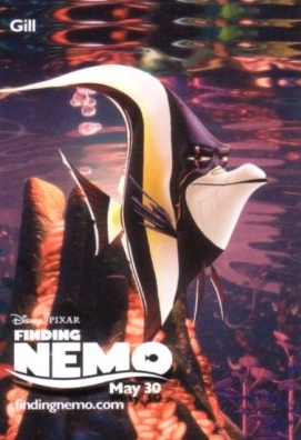 Gill Finding Nemo Poster