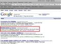 Google search!
