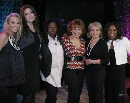 Group Photoshoots with The Hosts of The View