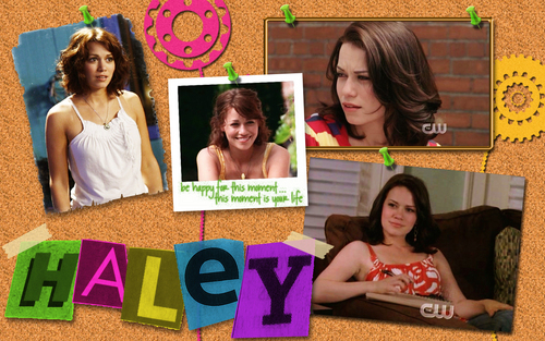 Haley - haley-james-scott Wallpaper
