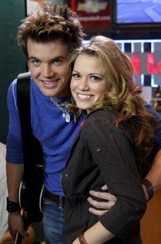 Haley with Chris Keller ;)