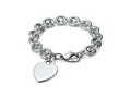 Heart tag charm bracelet - tiffany-and-co photo