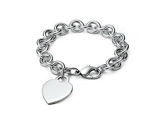 دل tag charm bracelet