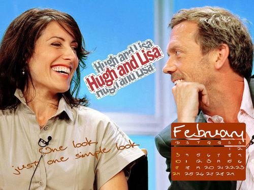 Hugh&Lisa Feb. karatasi la kupamba ukuta