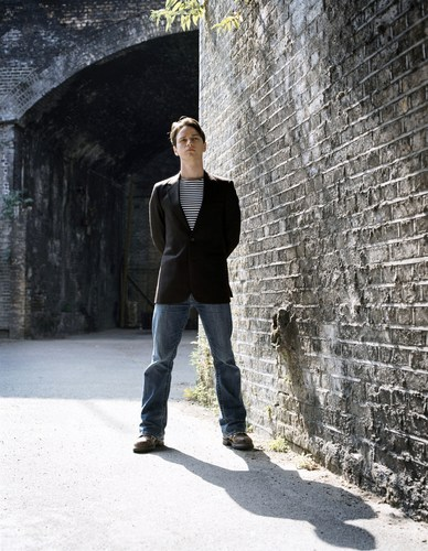 James McAvoy wallpaper containing a portcullis, a street, and a railroad tunnel entitled James