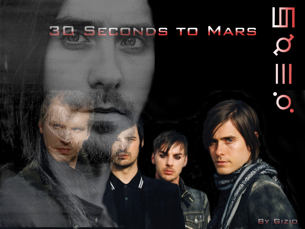 jared leto 30 seconds to mars wallpaper