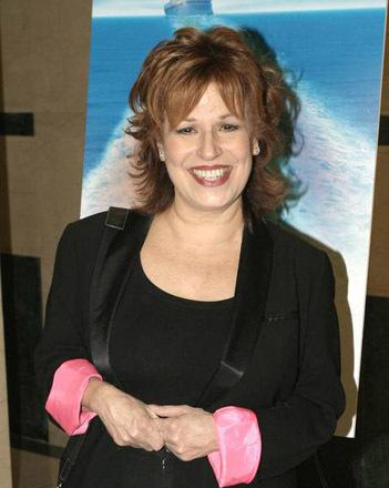 Joy Behar poses