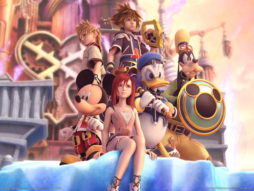 Kingdom Hearts wallpaper called Kingdom Hearts II