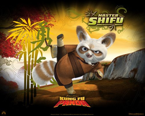 Master Shifu - kung-fu-panda Wallpaper