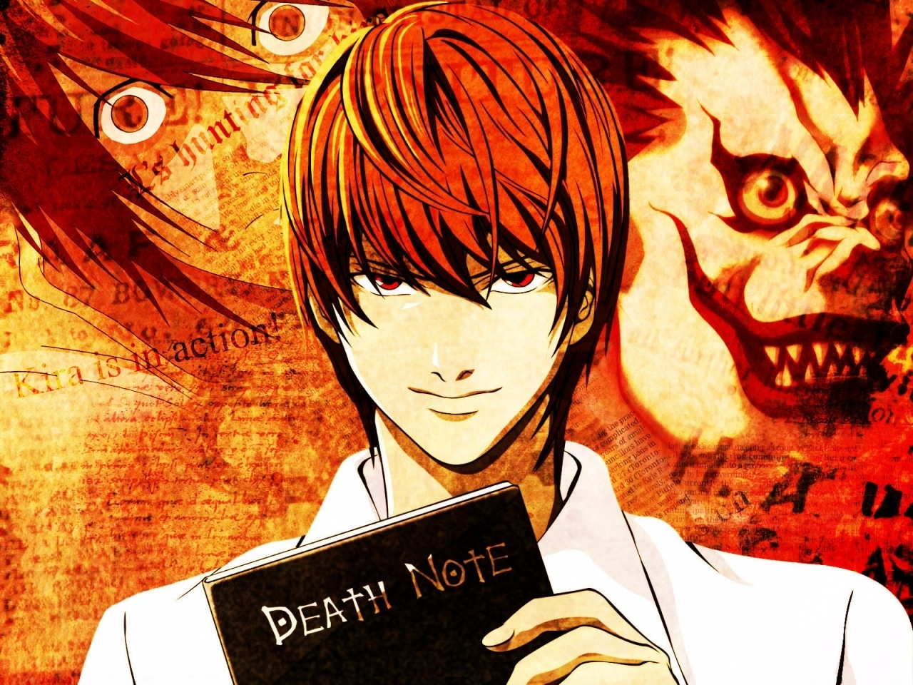 Light yagami images light kira hd wallpaper and background photos