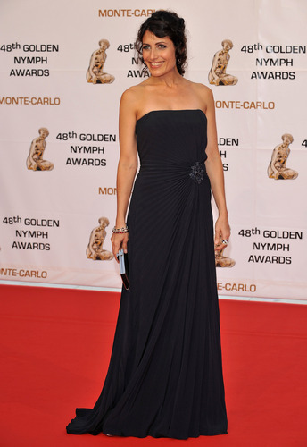 Lisa on the 5th jour of Monte Carlo TV Festival