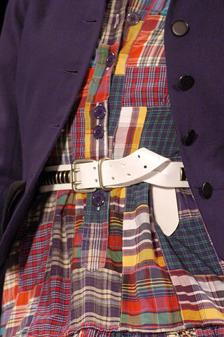 Marc oleh Marc Jacobs Fall 2005: Details