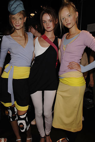 Marc سے طرف کی Marc Jacobs Spring 2006: Backstage
