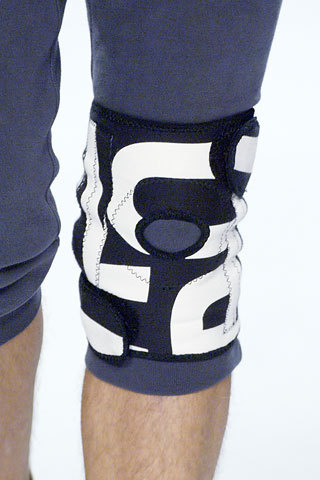 Marc Jacobs wallpaper containing a knee pad and a knee piece titled Marc by Marc Jacobs Spring 2006: Details
