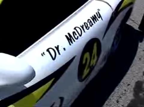 McDreamy's race car
