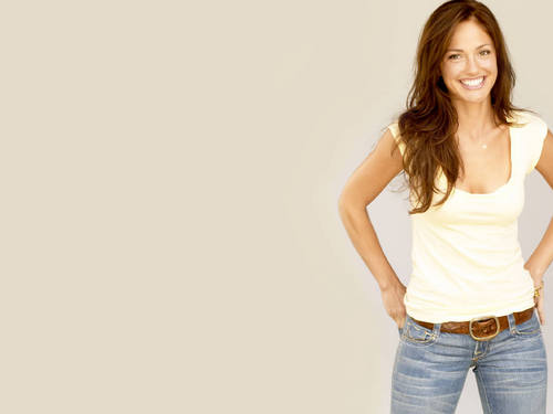 minka kelly fondo de pantalla probably containing a jean and bellbottom trousers called Minka