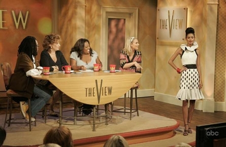 Modeling on The View